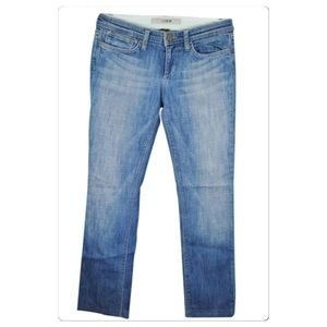 Joes Jeans Dltry wash straight leg jeans, sz. 28